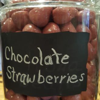 chocolate-blueberries